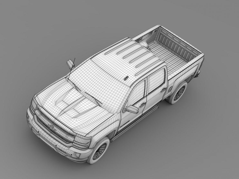 chevrolet silverado ltz crew cab gmtk2 standart bo 3d model 3ds max fbx c4d lwo ma mb hrc xsi obj 219097