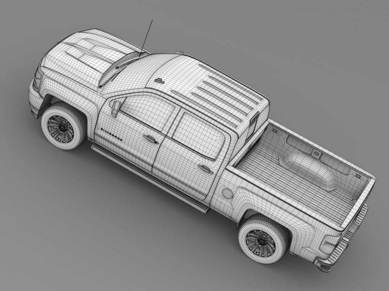 chevrolet silverado ltz crew cab gmtk2 standart bo 3d model 3ds max fbx c4d lwo ma mb hrc xsi obj 219099