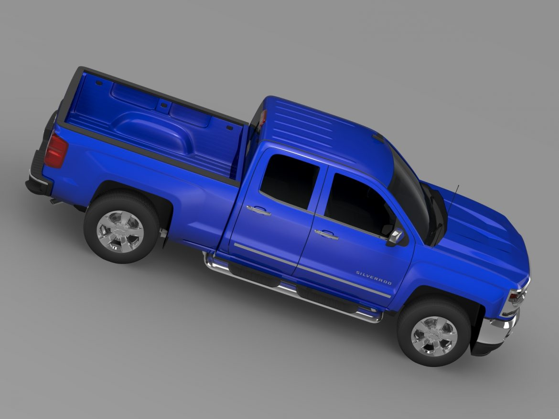chevrolet silverado ltz double cab gmtk2 standart 3d model 3ds max fbx c4d lwo ma mb hrc xsi obj 219111
