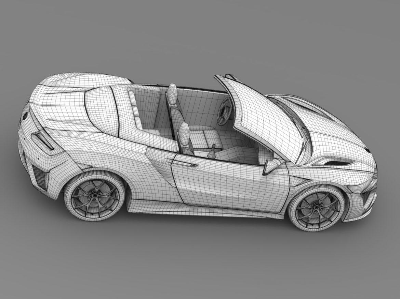 acura nsx cabriolet 2017 3d model 3ds max fbx c4d lwo ma mb hrc xsi obj 219138