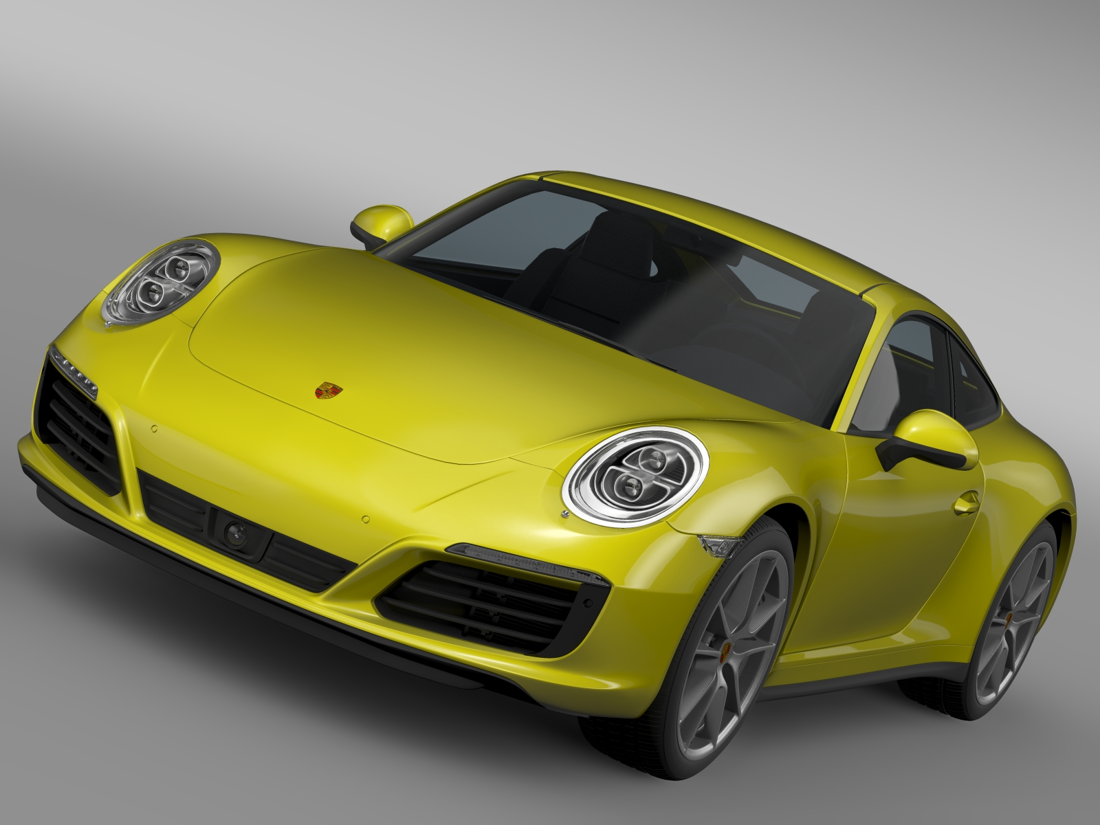 porsche 911 carrera 4 coupe 991 2016 3d model 3ds max fbx c4d lwo ma mb hrc xsi obj 219179