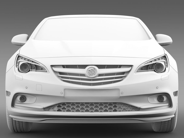 buick cascada turbo 2016 3d model 3ds max fbx c4d lwo ma mb hrc xsi obj 219392