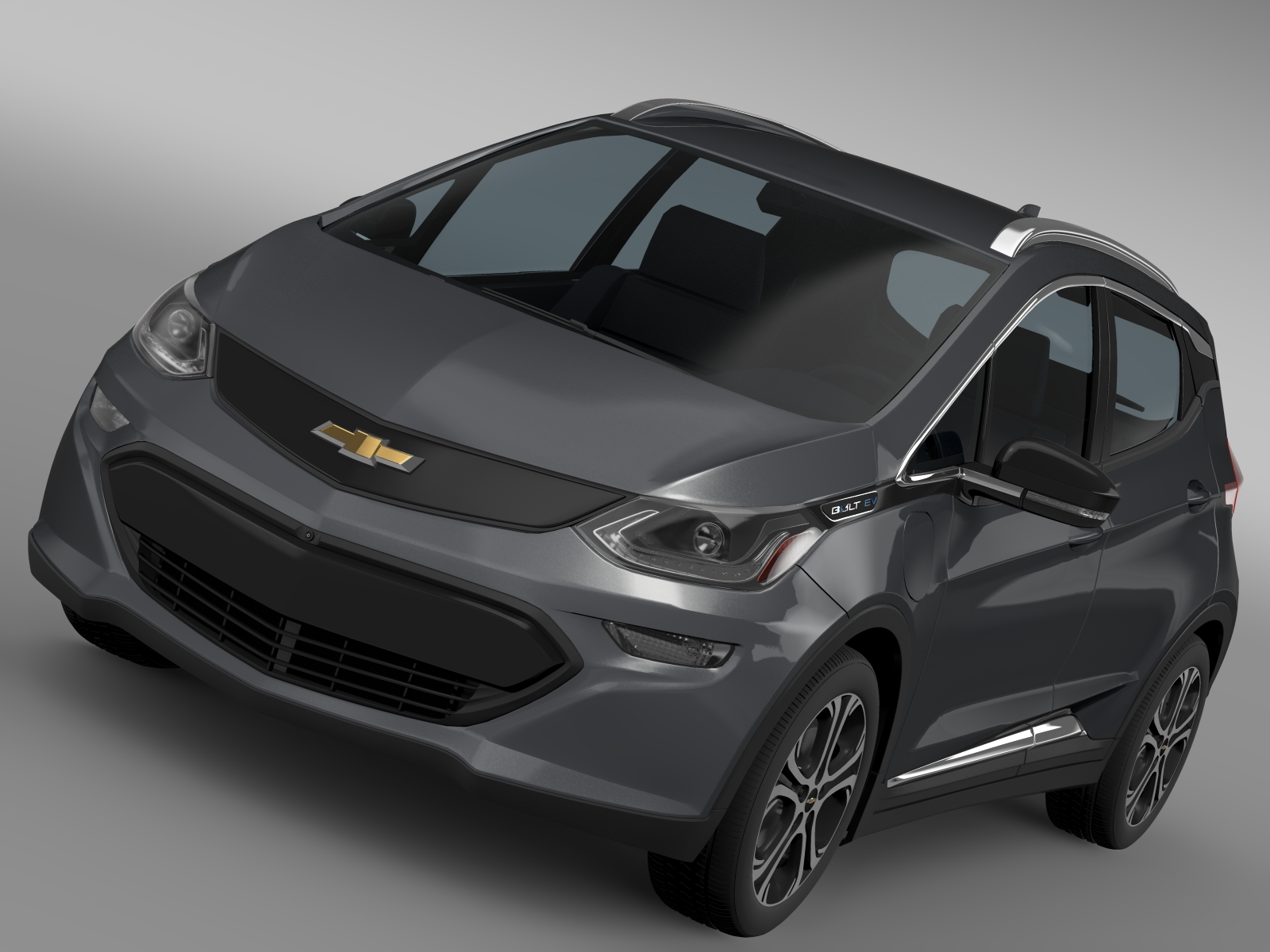 chevrolet bolt ev 2017 3d model 3ds max fbx c4d lwo ma