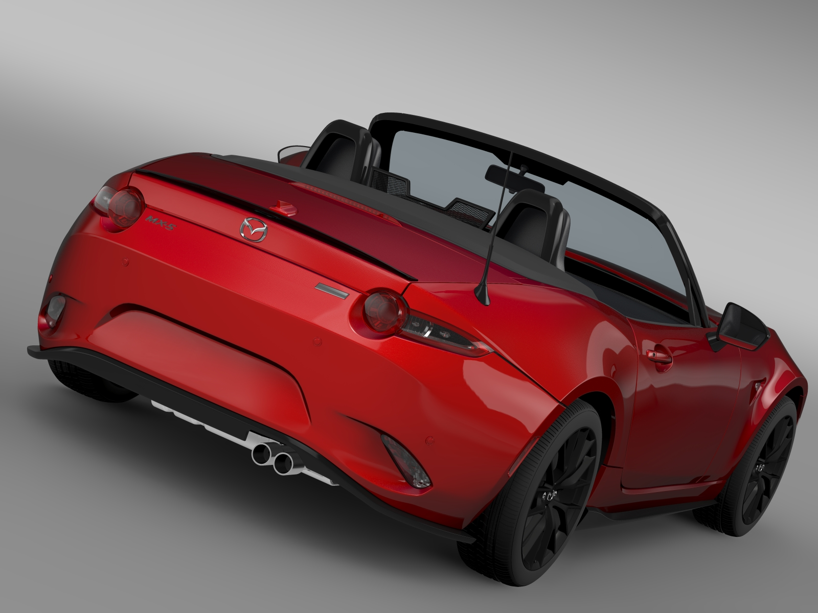 mazda mx 5 maita club 2016 3d model. Black Bedroom Furniture Sets. Home Design Ideas