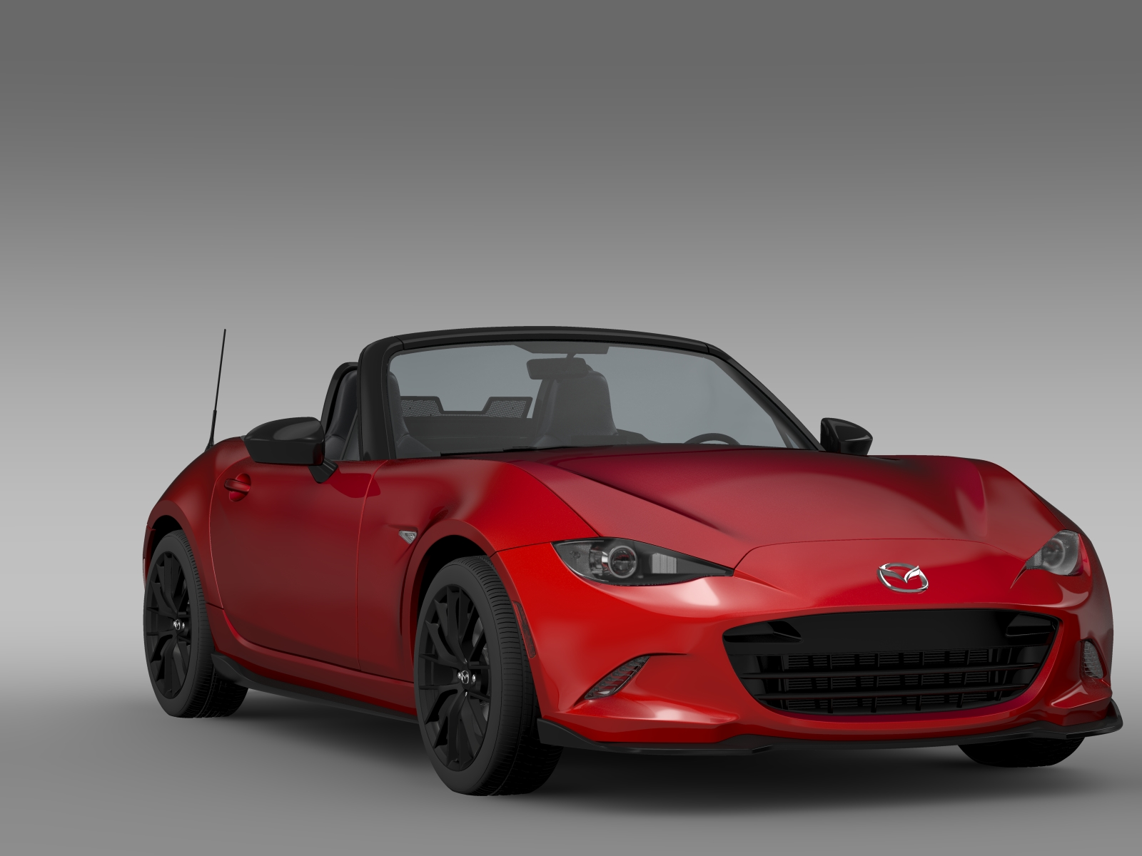mazda mx 5 maita club 2016 3d model buy mazda mx 5 maita. Black Bedroom Furniture Sets. Home Design Ideas