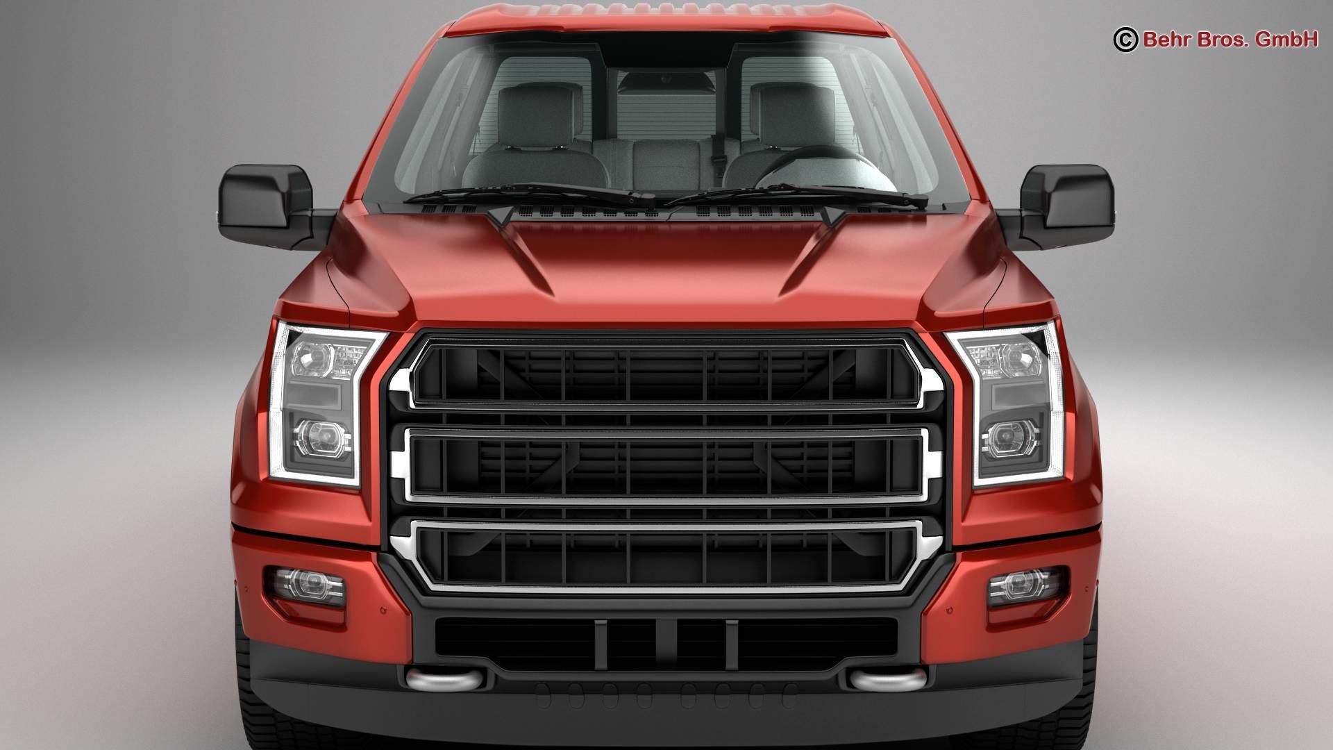 generic pickup 3d model 3ds max fbx c4d lwo ma mb obj 219873