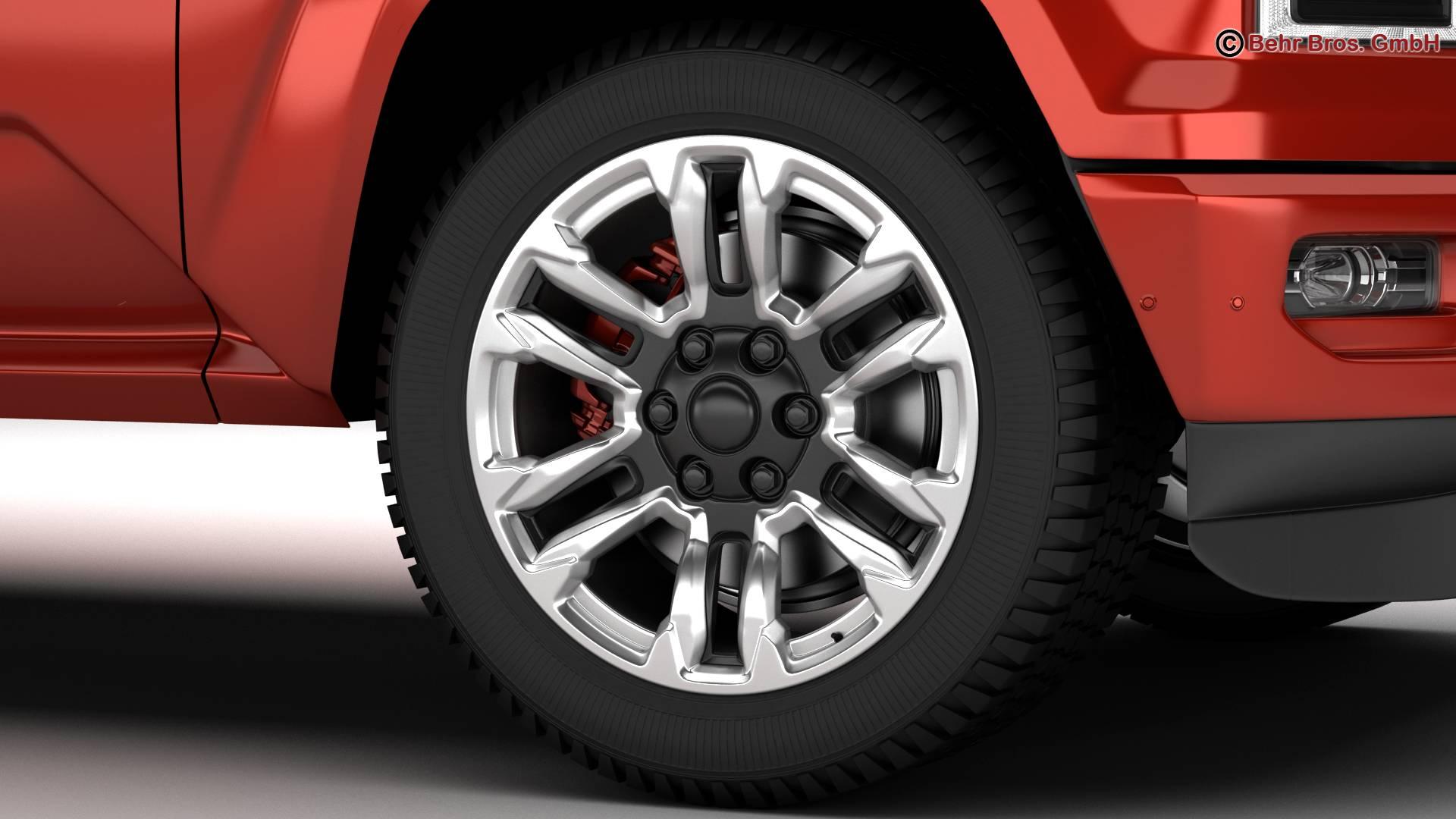generic pickup 3d model 3ds max fbx c4d lwo ma mb obj 219875