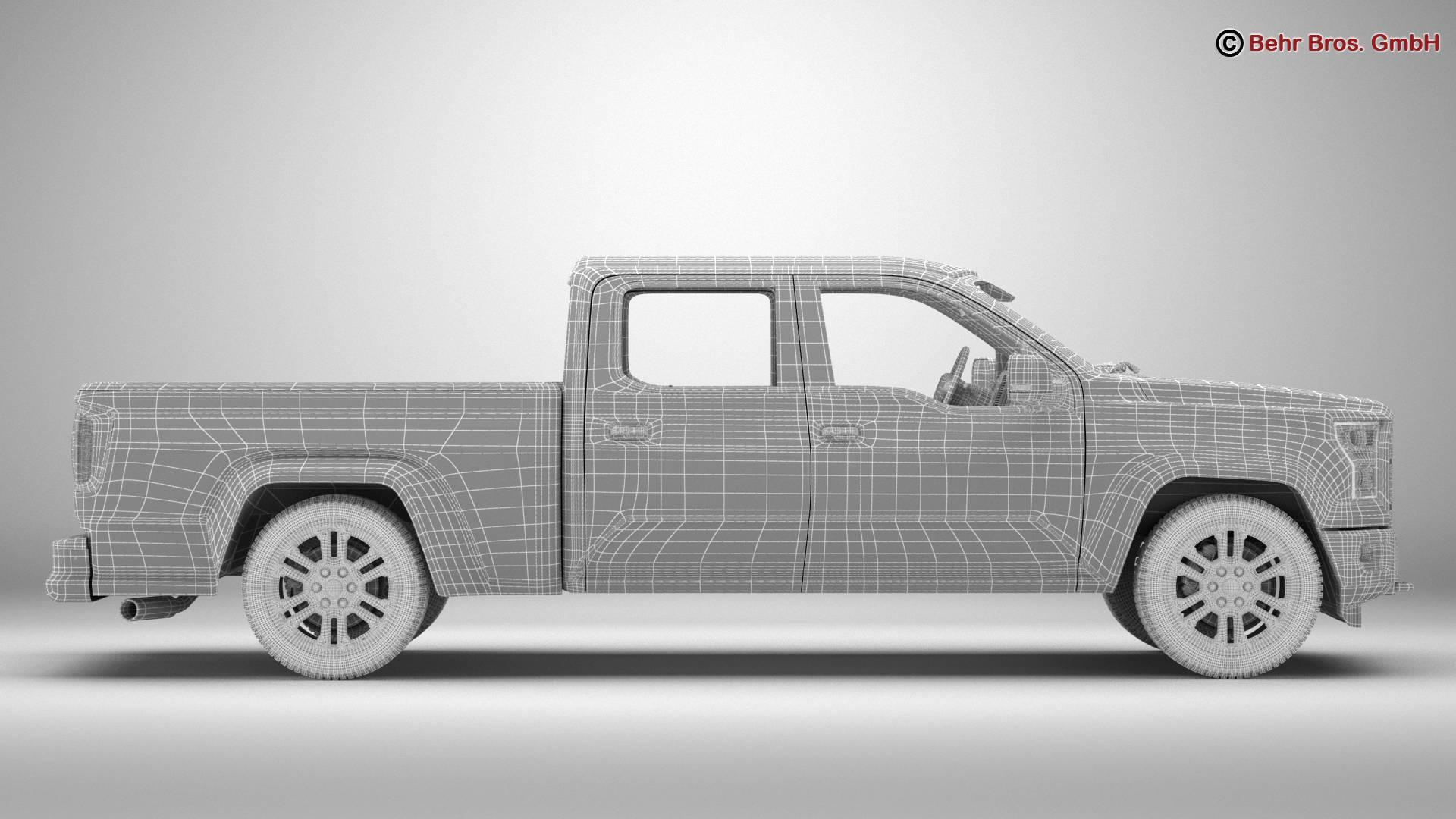 generic pickup 3d model 3ds max fbx c4d lwo ma mb obj 219887