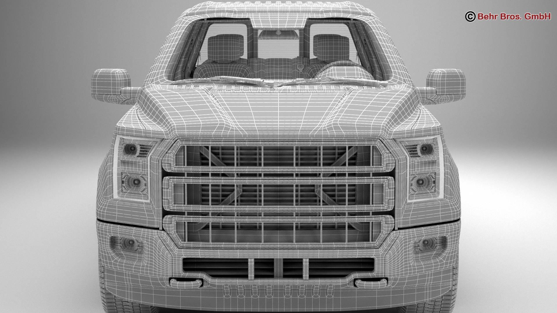 generic pickup 3d model 3ds max fbx c4d lwo ma mb obj 219888