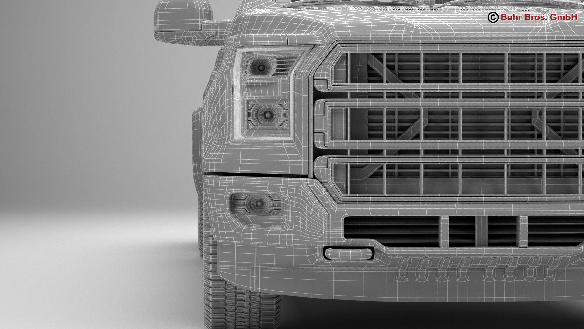 generic pickup 3d model 3ds max fbx c4d lwo ma mb obj 219889