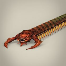 Game Ready Fantasy Centipede ( 183.55KB jpg by cghuman )