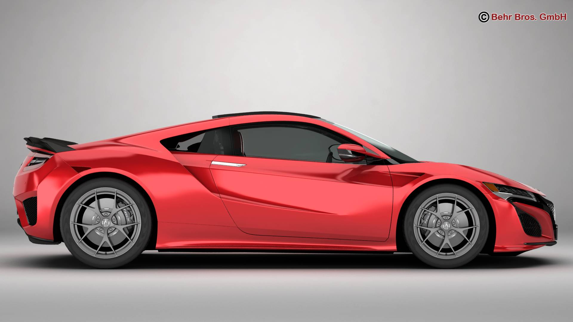 acura nsx 2017 3d model buy acura nsx 2017 3d model flatpyramid