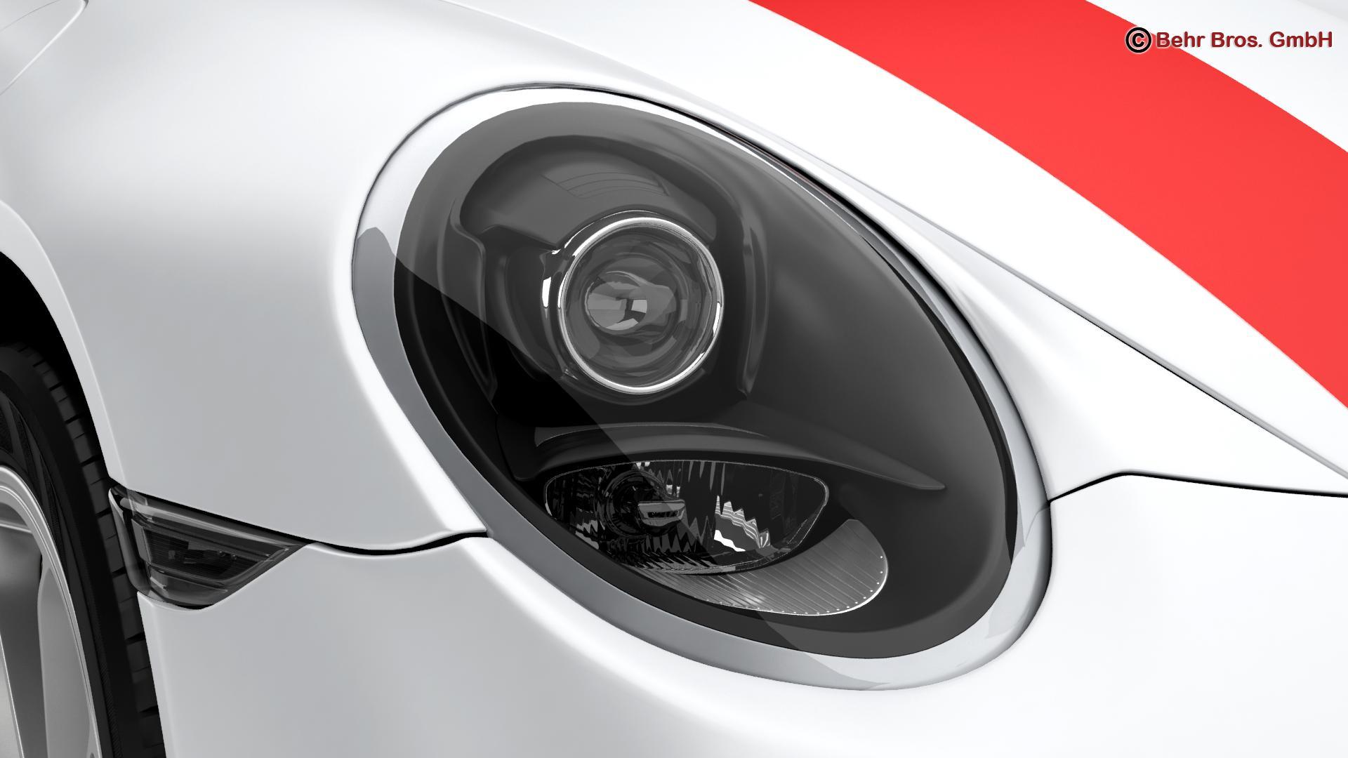 porsche 911 r 2017 3d model 3ds max fbx c4d lwo ma mb obj 220008