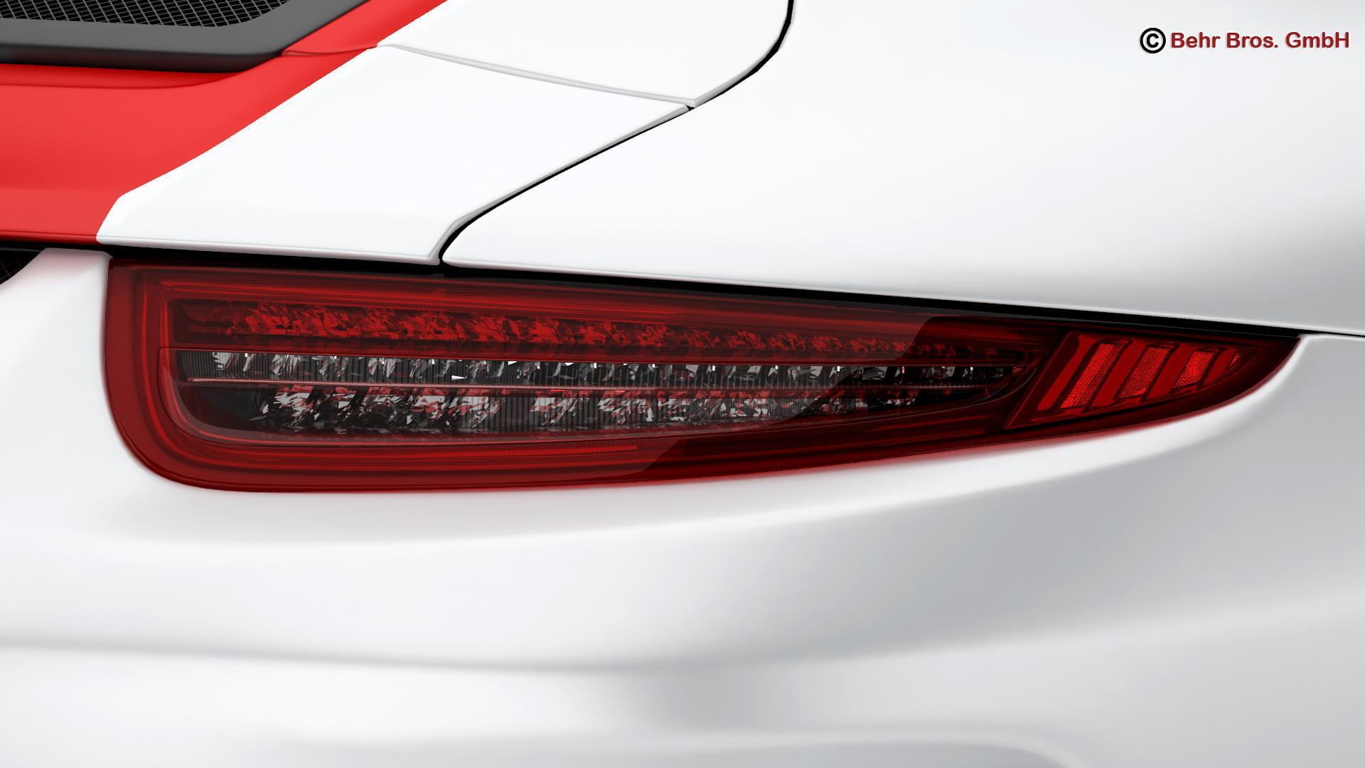 porsche 911 r 2017 3d model 3ds max fbx c4d lwo ma mb obj 220009