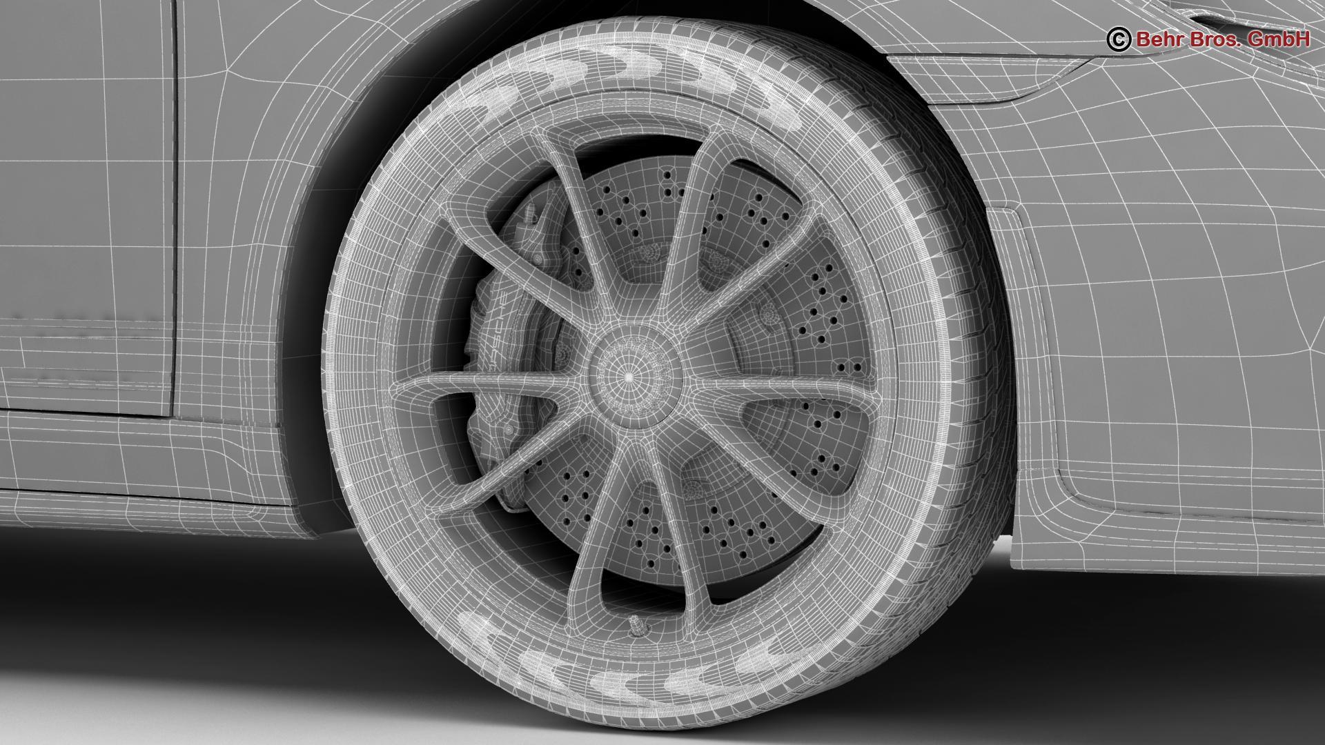porsche 911 r 2017 3d model 3ds max fbx c4d lwo ma mb obj 220022