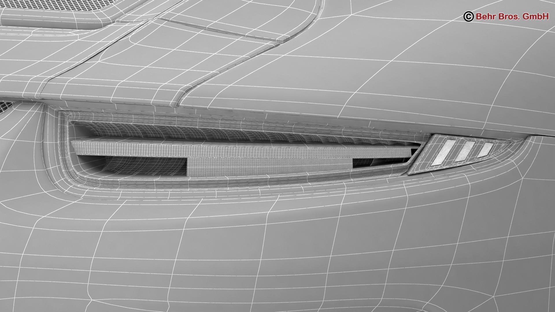 porsche 911 r 2017 3d model 3ds max fbx c4d lwo ma mb obj 220024