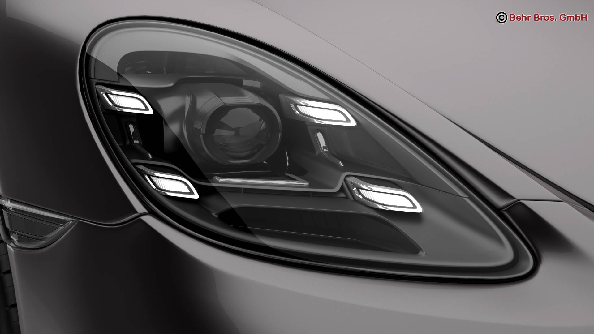 porsche 718 cayman 2017 3d model 3ds max fbx c4d lwo ma mb obj 220079