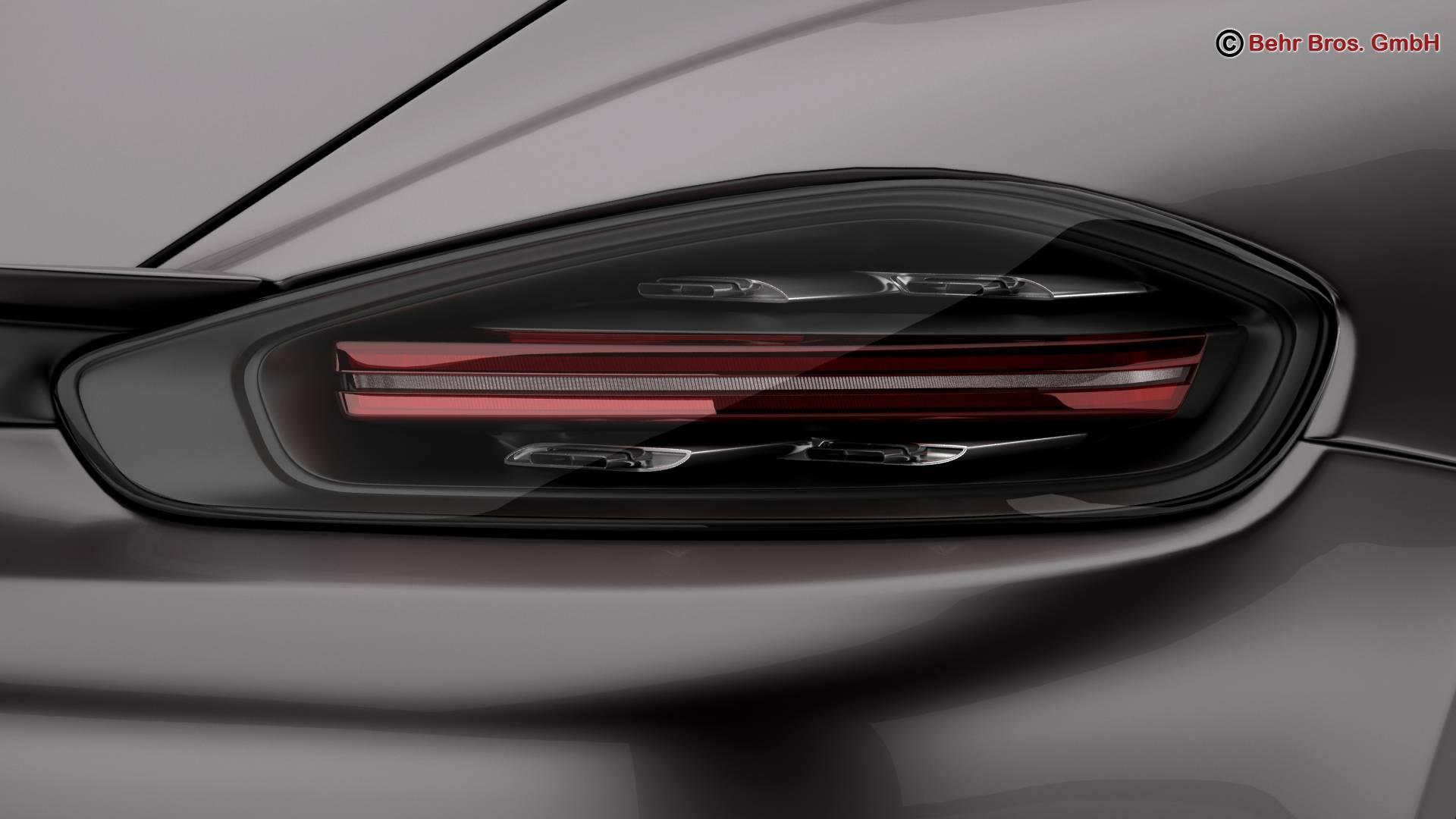 porsche 718 cayman 2017 3d model 3ds max fbx c4d lwo ma mb obj 220080
