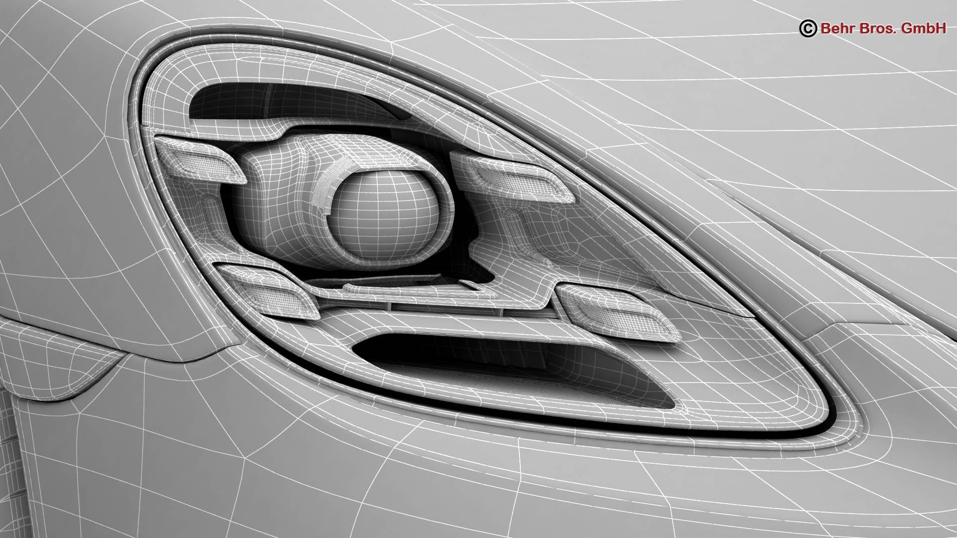 porsche 718 cayman 2017 3d model 3ds max fbx c4d lwo ma mb obj 220094