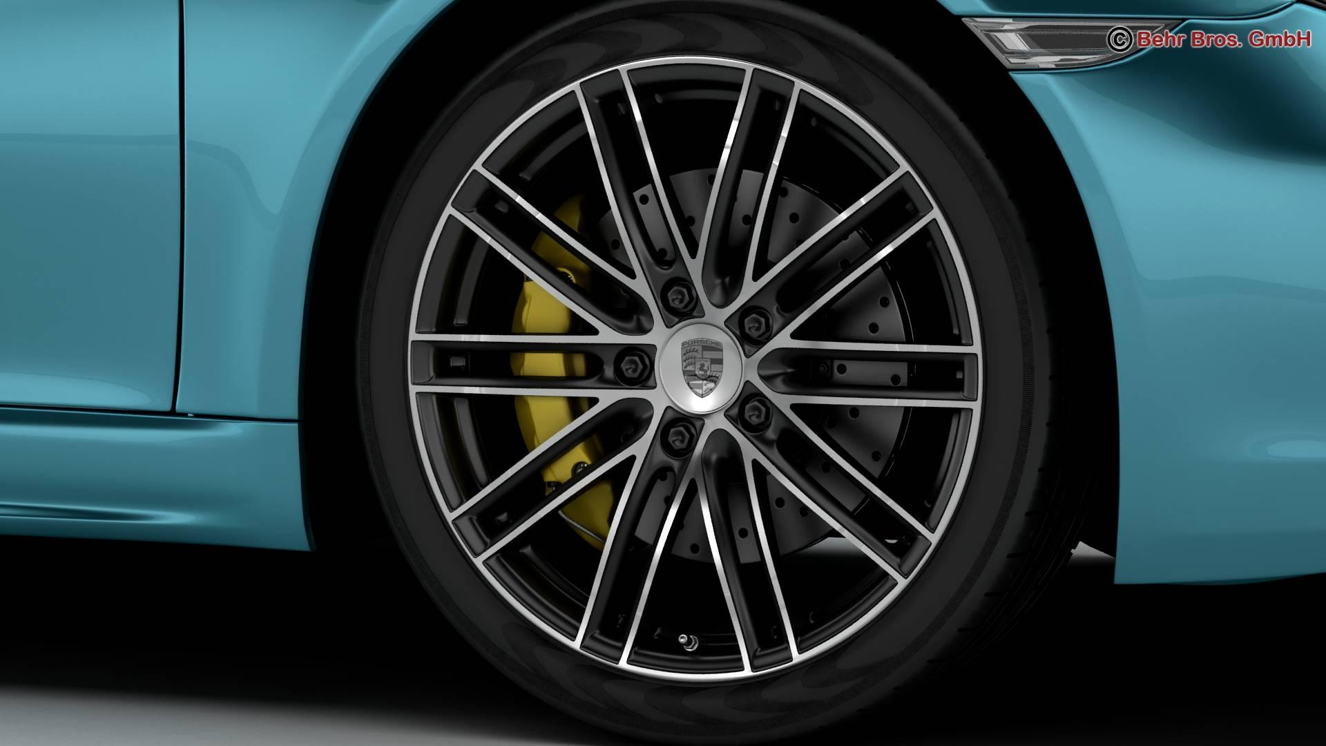 porsche 718 cayman s 2017 3d model 3ds max fbx c4d lwo ma mb obj 220110