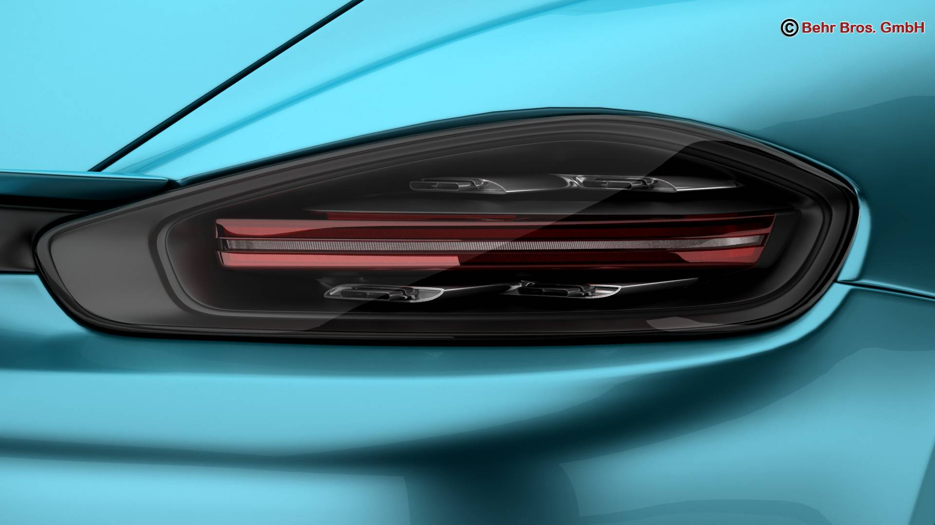 porsche 718 cayman s 2017 3d model 3ds max fbx c4d lwo ma mb obj 220112