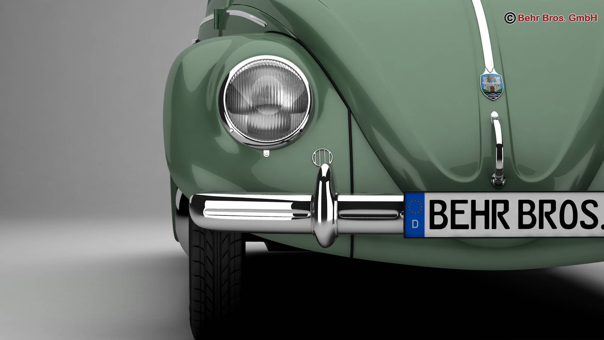 volkswagen beetle 1951 deluxe 3d model 3ds max fbx c4d lwo ma mb obj 220141