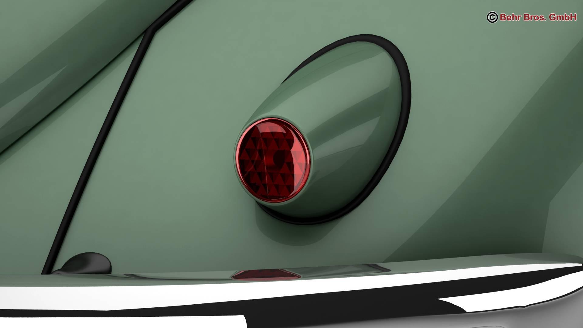 volkswagen beetle 1951 deluxe 3d model 3ds max fbx c4d lwo ma mb obj 220144