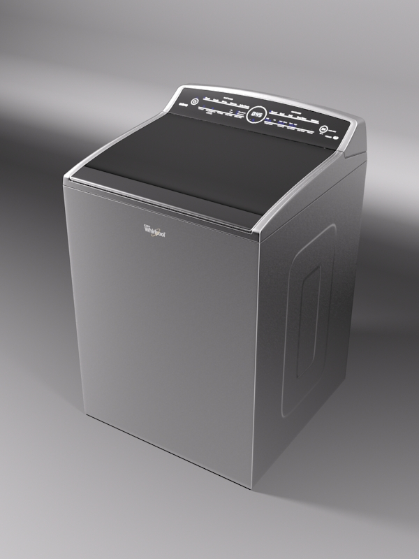 whirlpool smart cabrio washer 3d model 3ds max fbx obj 220248