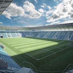 European Soccer Stadium 3d model 0