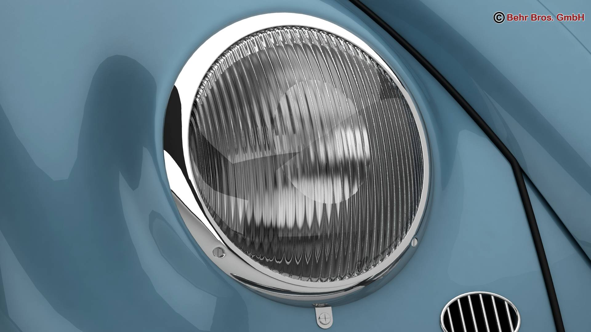 volkswagen beetle 1963 1200 deluxe 3d model 3ds max fbx c4d lwo ma mb obj 220281