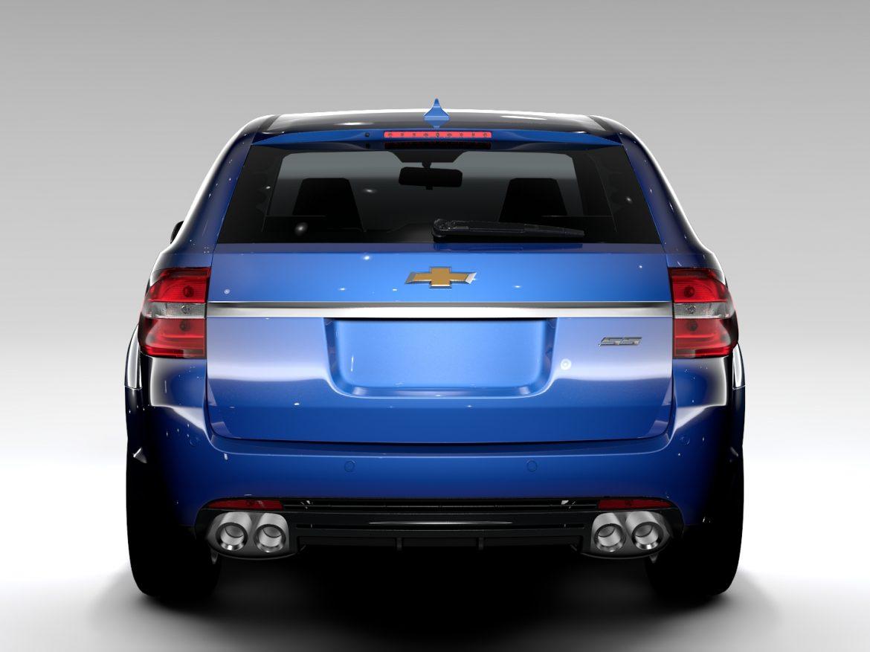 Chevrolet SS 2017 Tourer ( 472.06KB jpg by CREATOR_3D )
