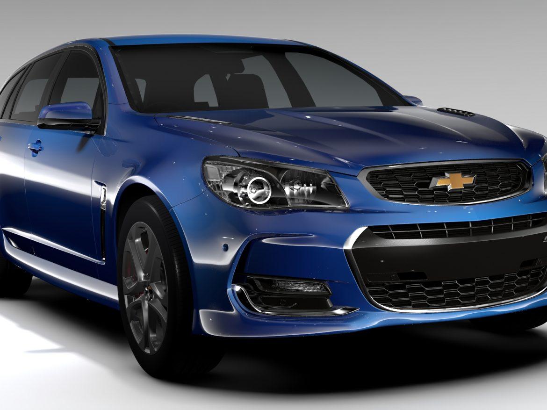 Chevrolet SS 2017 Tourer ( 718.6KB jpg by CREATOR_3D )