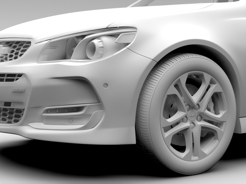 Chevrolet SS 2017 Tourer ( 499.96KB jpg by CREATOR_3D )