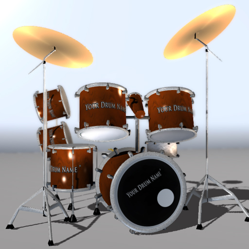 drum for games 3d model blend 220364