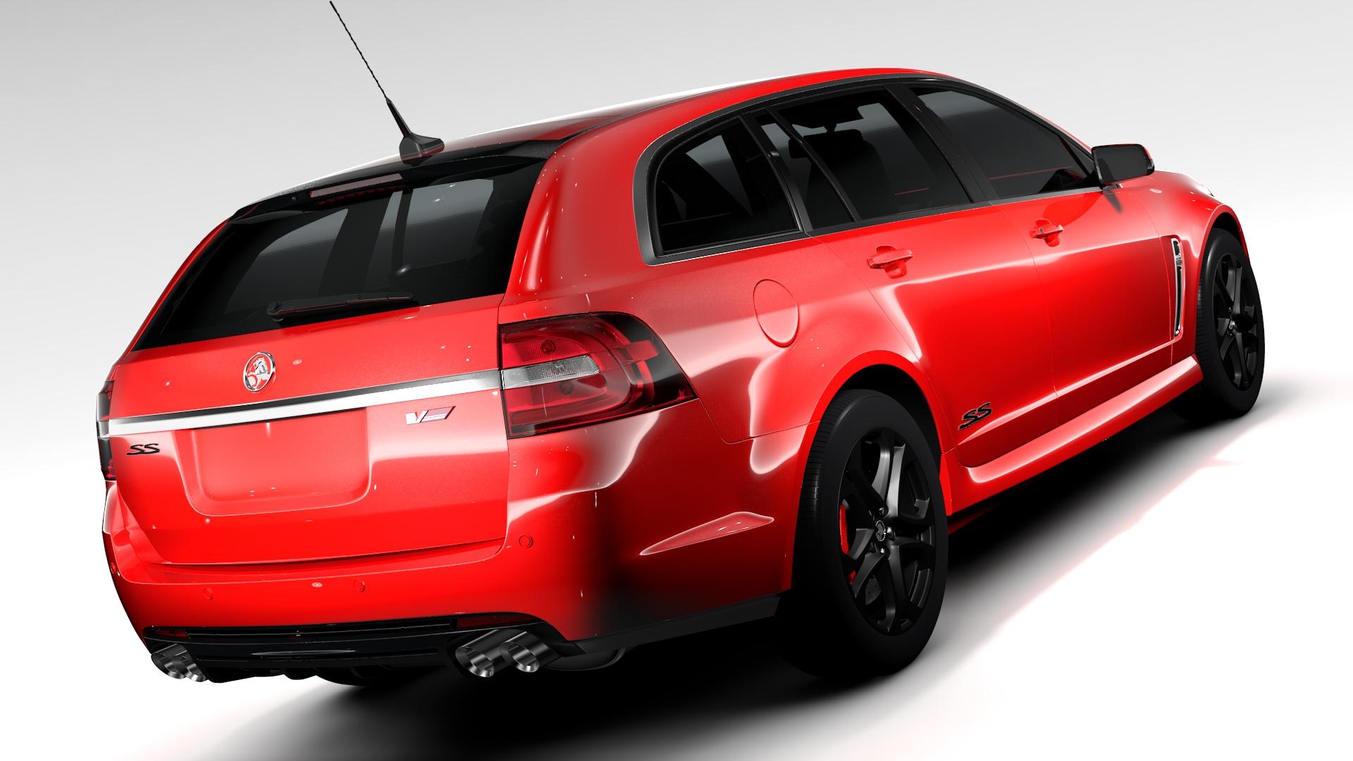 Holden Commodore SS V Redline Sportwagon VF Series 3D ...