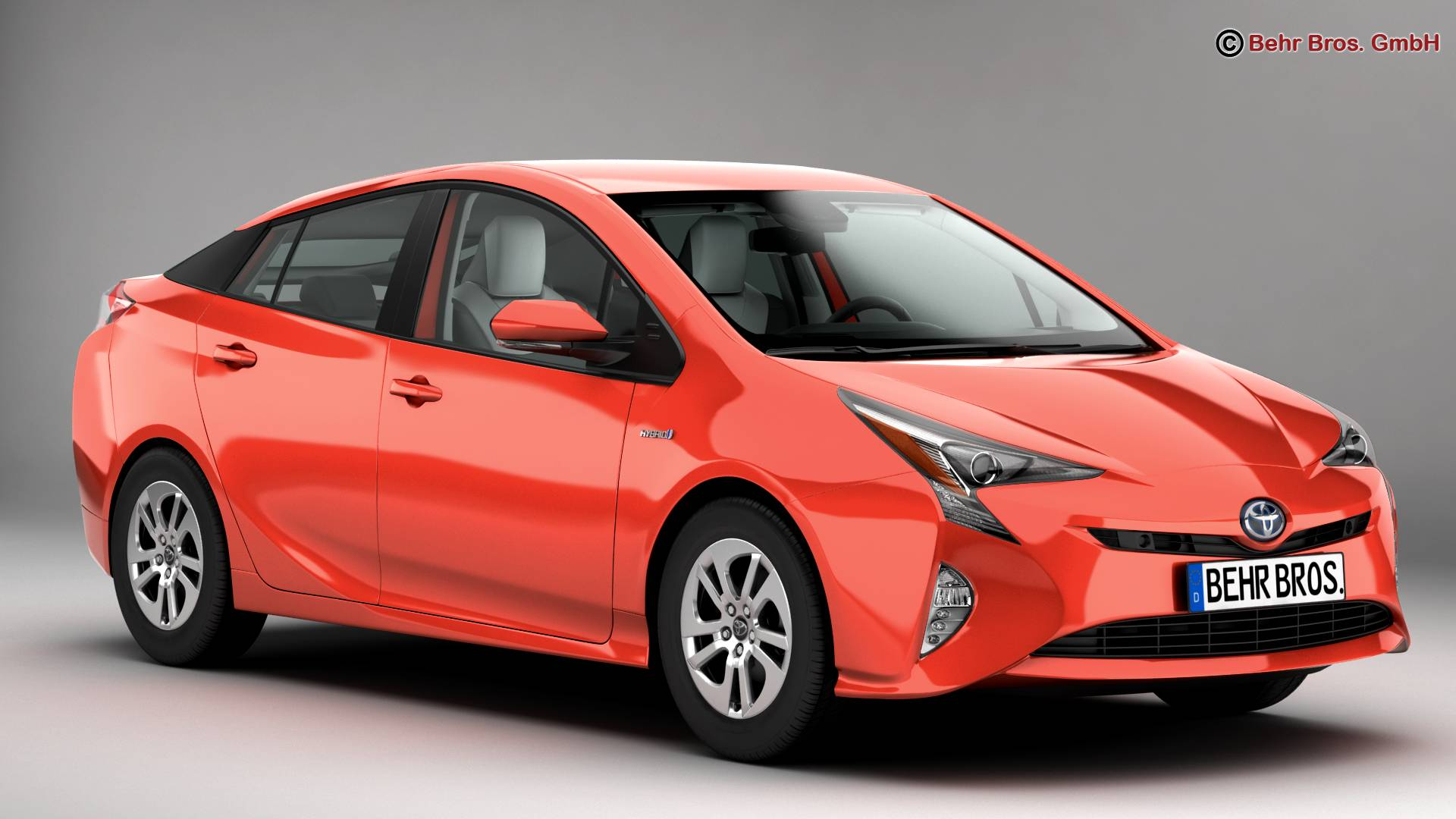 toyota prius 2016 v1 3d model buy toyota prius 2016 v1 3d model flatpyramid. Black Bedroom Furniture Sets. Home Design Ideas