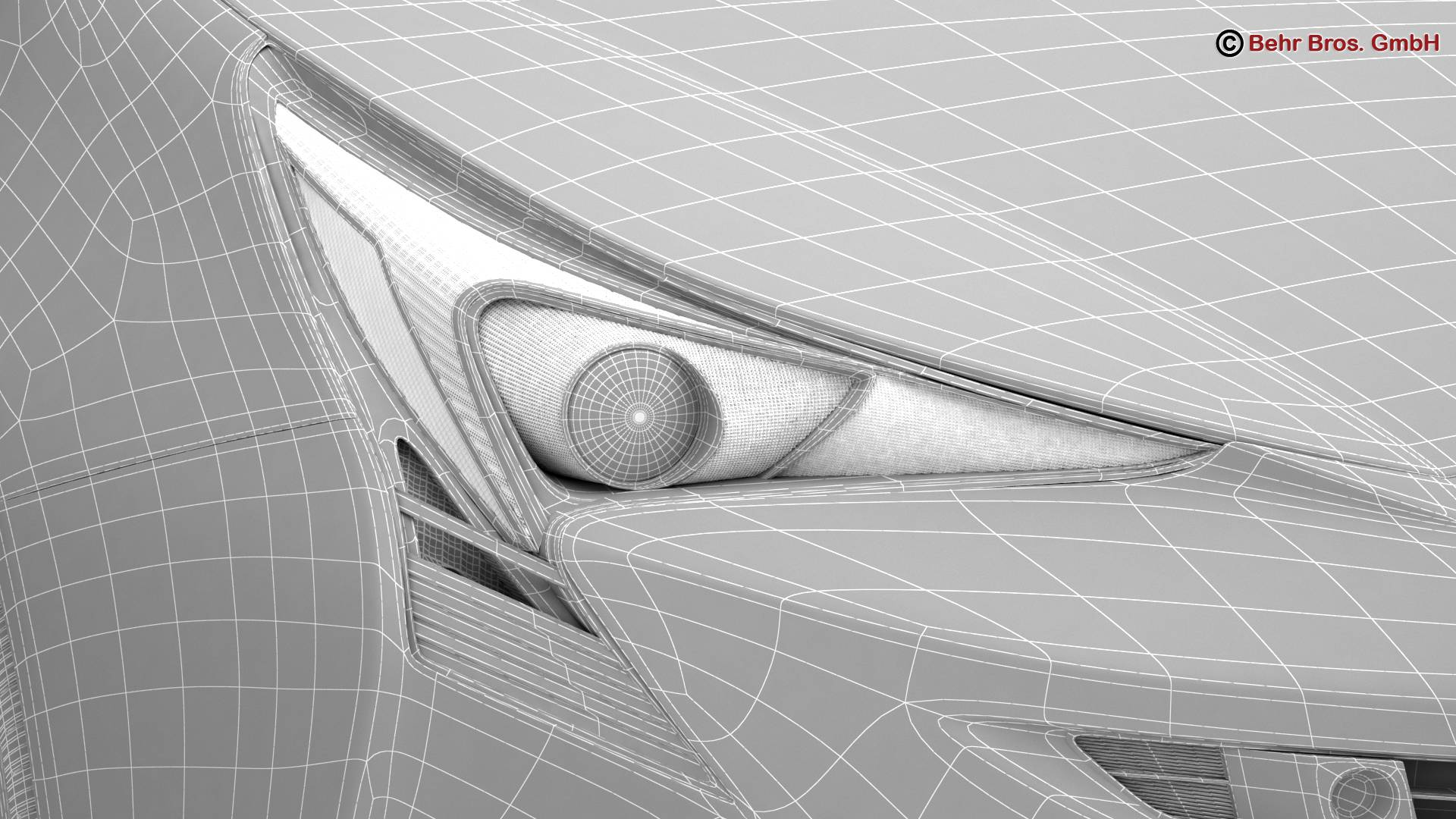 toyota prius 2016 v1 3d model 3ds max fbx c4d lwo ma mb obj 220485