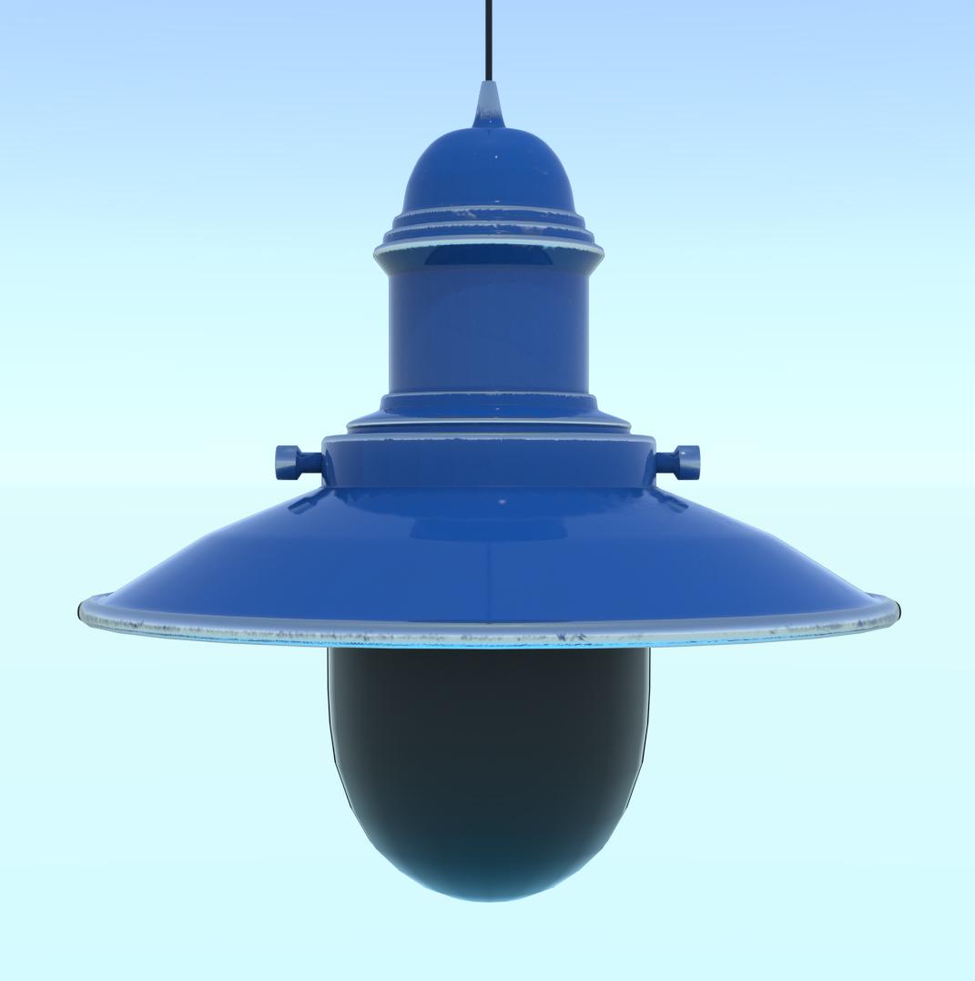 fishermans lamp 3d model fbx blend png obj 220495