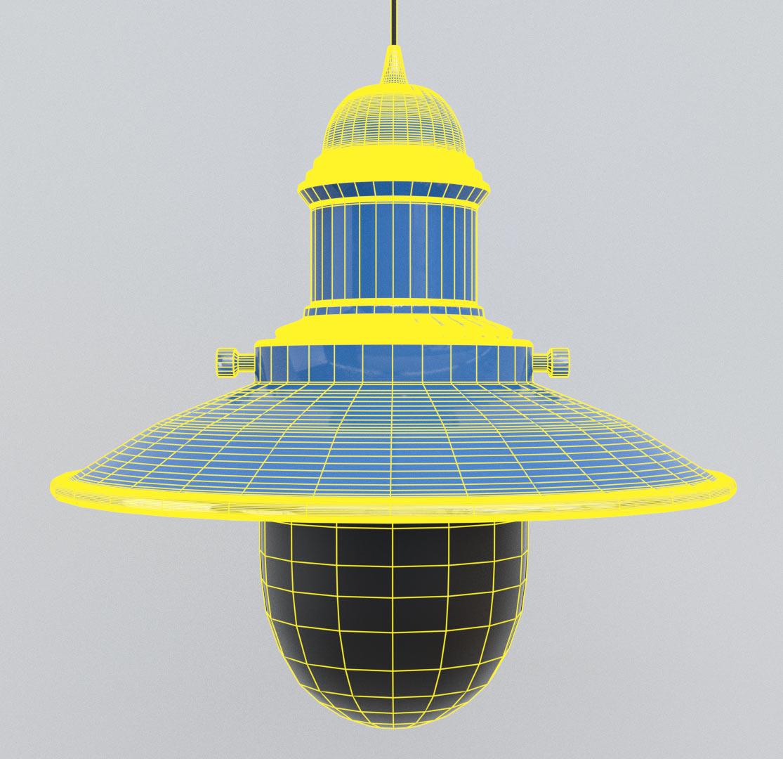 fishermans lamp 3d model fbx blend png obj 220496