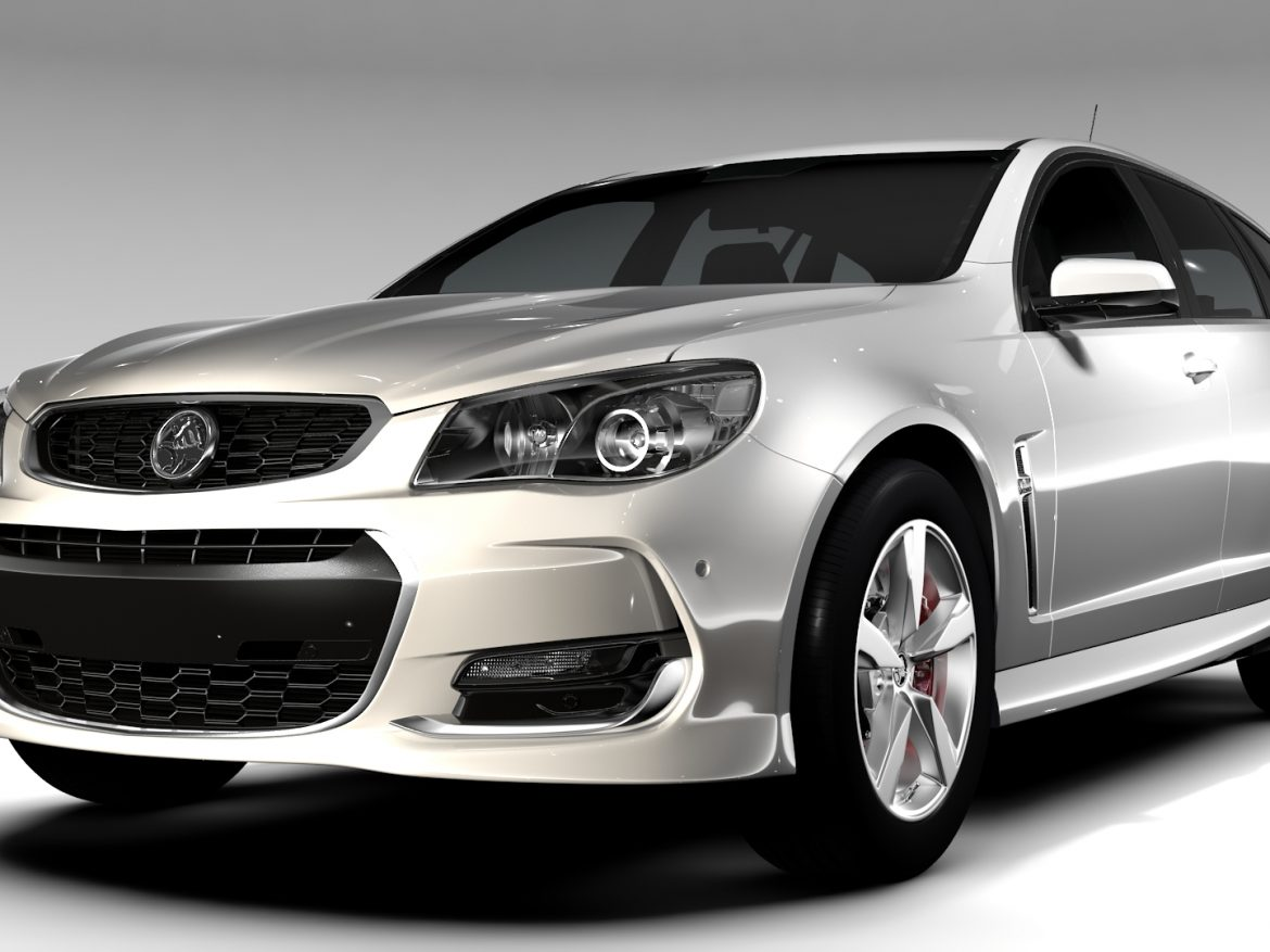 Holden Commodore SV6 Sportwagon VF Series II 2016 ( 619.74KB jpg by CREATOR_3D )