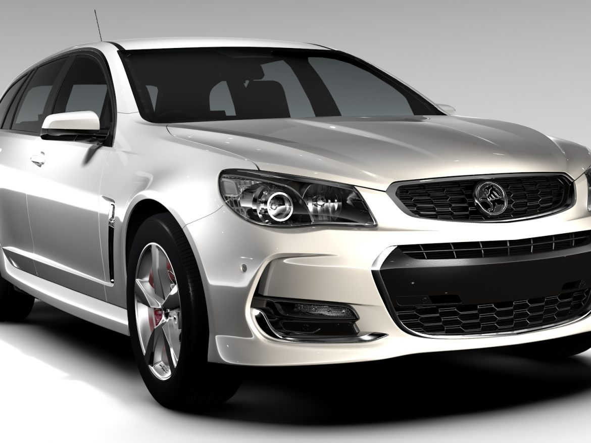 Holden Commodore SV6 Sportwagon VF Series II 2016 ( 645.95KB jpg by CREATOR_3D )