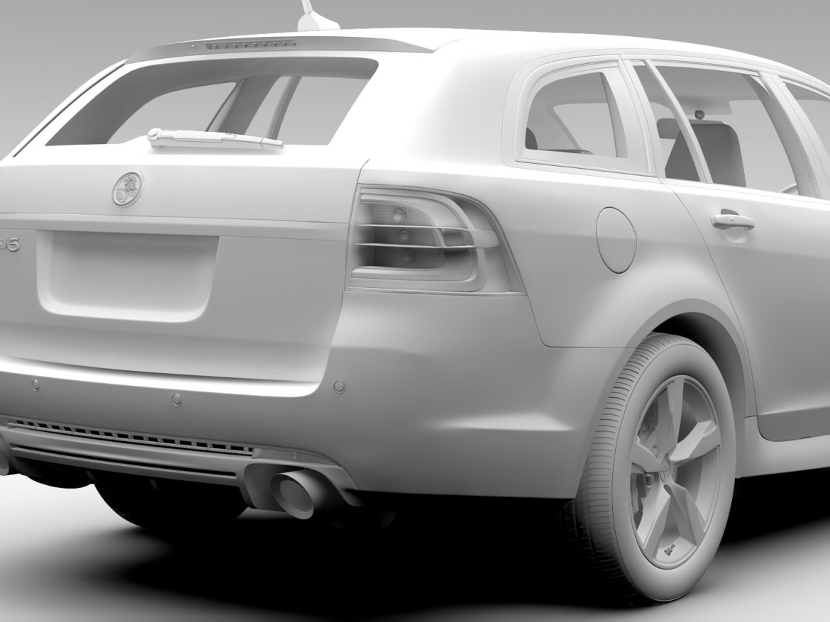 Holden Commodore SV6 Sportwagon VF Series II 2016 ( 447.69KB jpg by CREATOR_3D )