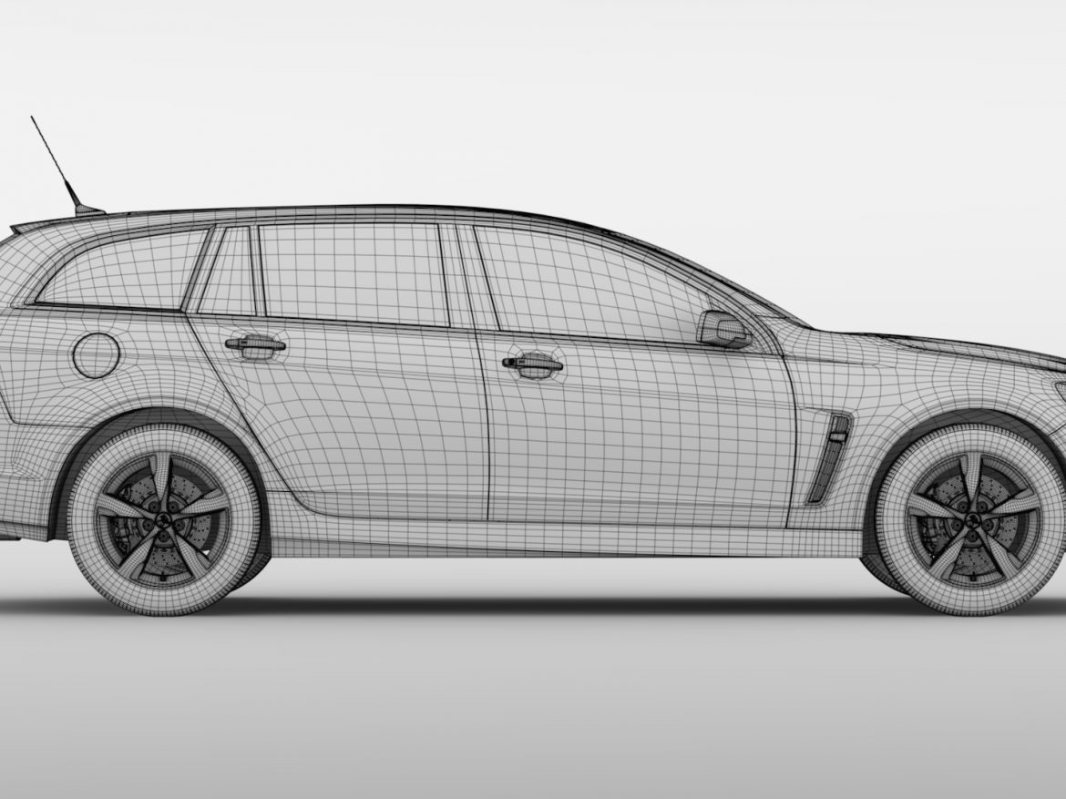 Holden Commodore SV6 Sportwagon VF Series II 2016 ( 590.55KB jpg by CREATOR_3D )