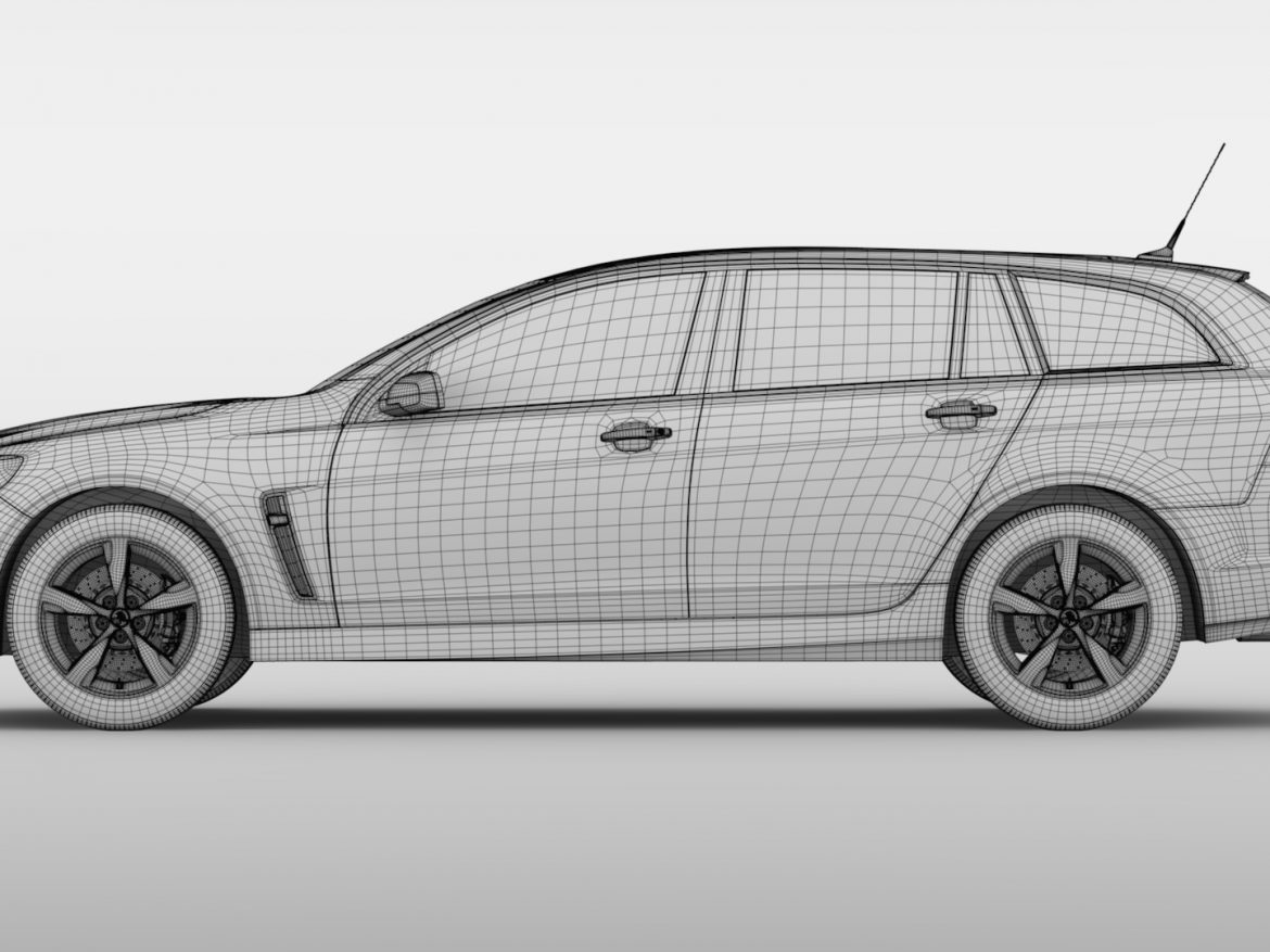 Holden Commodore SV6 Sportwagon VF Series II 2016 ( 573.74KB jpg by CREATOR_3D )