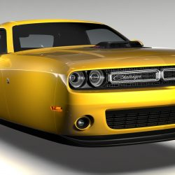 Dodge Challenger 392 Shaker (LC) 2016 Flying 3d model 3ds max fbx c4d lwo lws lw ma mb  obj