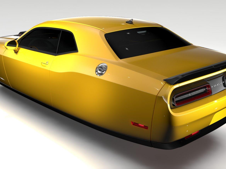 Dodge Challenger 392 Shaker (LC) 2016 Flying ( 655.4KB jpg by CREATOR_3D )
