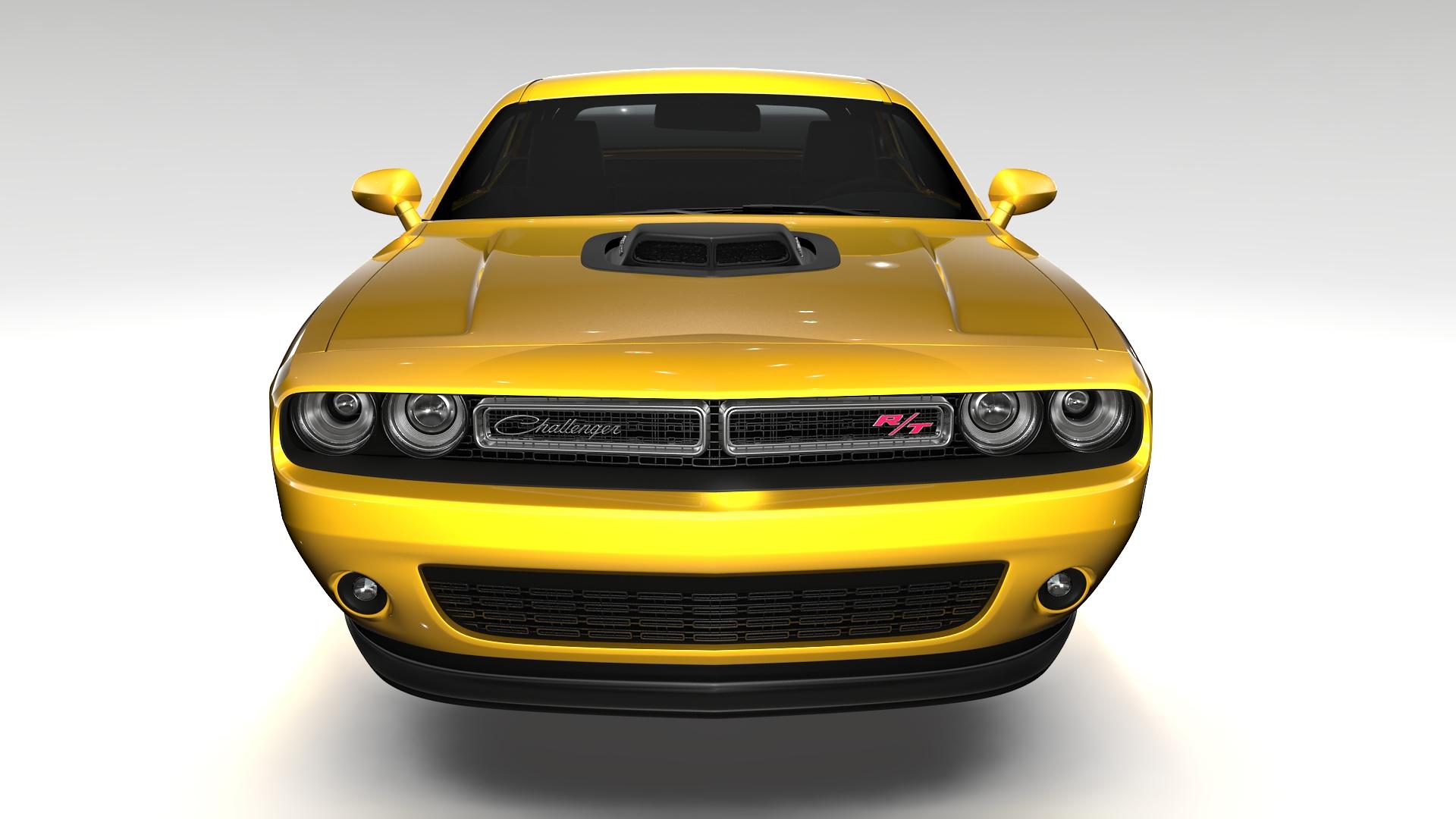Dodge Challenger 392 shaker (lc) 2016 yn hedfan model 3d 3ds max fbx c4d ar gyfer yr hrc xsi obj 220601