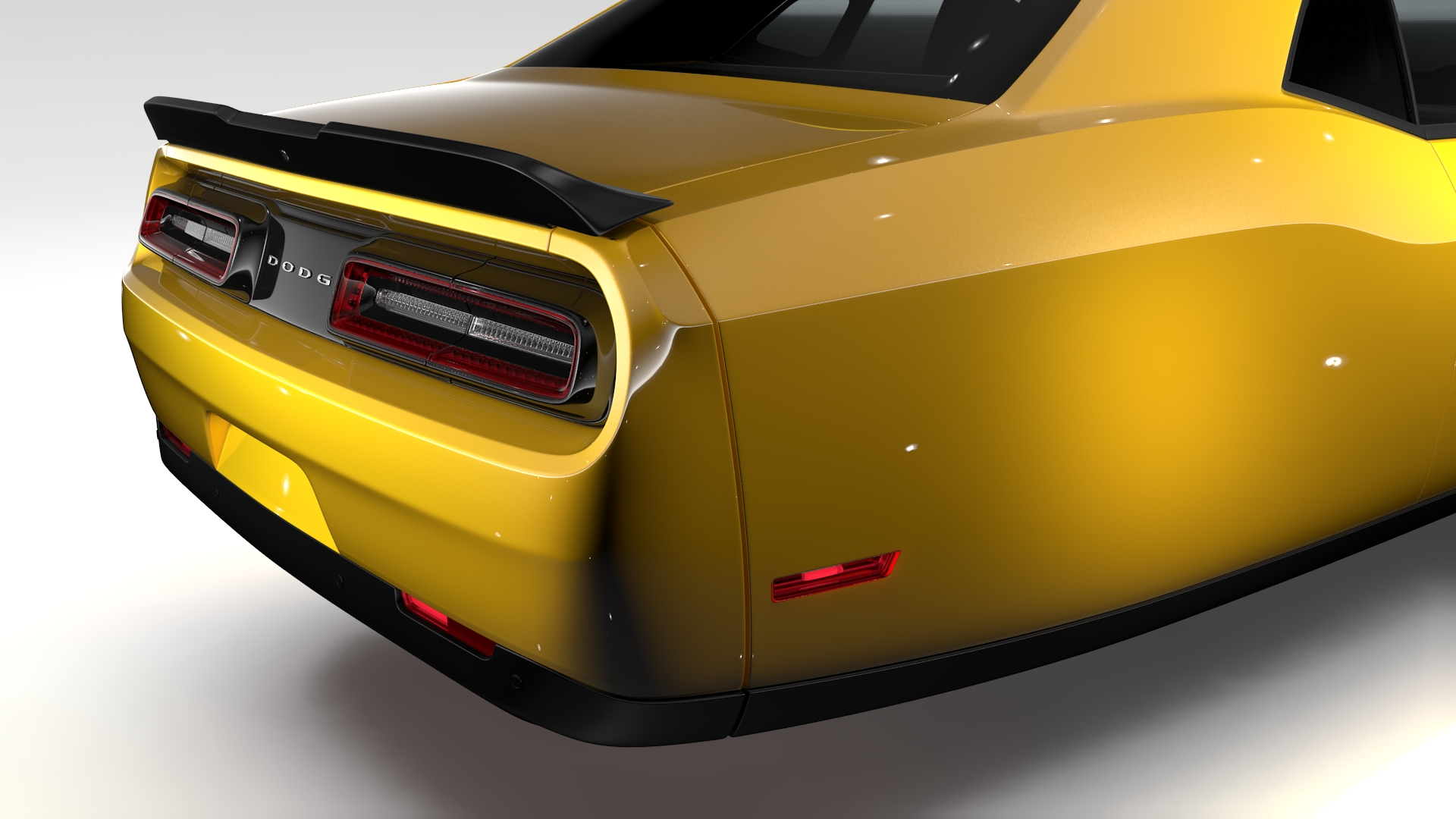 Dodge Challenger 392 shaker (lc) 2016 yn hedfan model 3d 3ds max fbx c4d ar gyfer yr hrc xsi obj 220609
