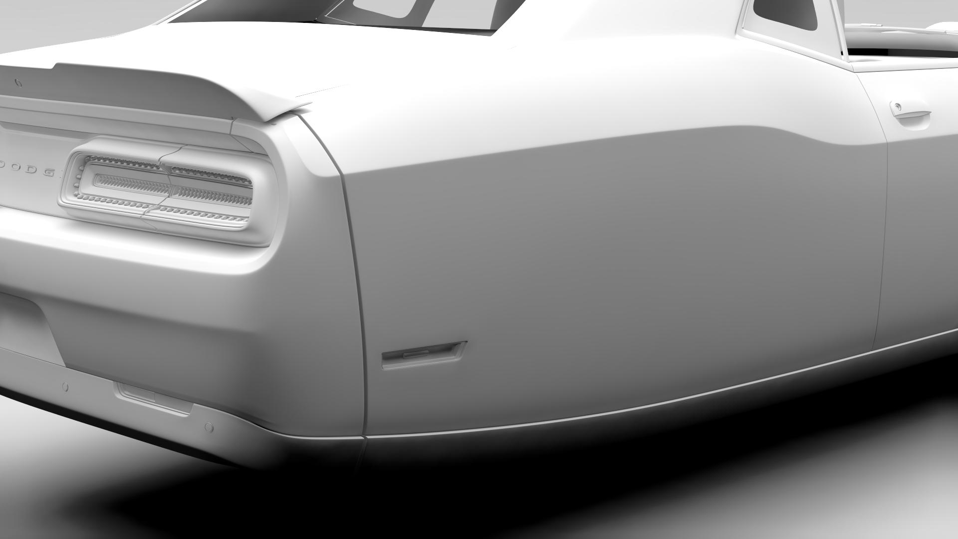 Dodge Challenger 392 shaker (lc) 2016 yn hedfan model 3d 3ds max fbx c4d ar gyfer yr hrc xsi obj 220610
