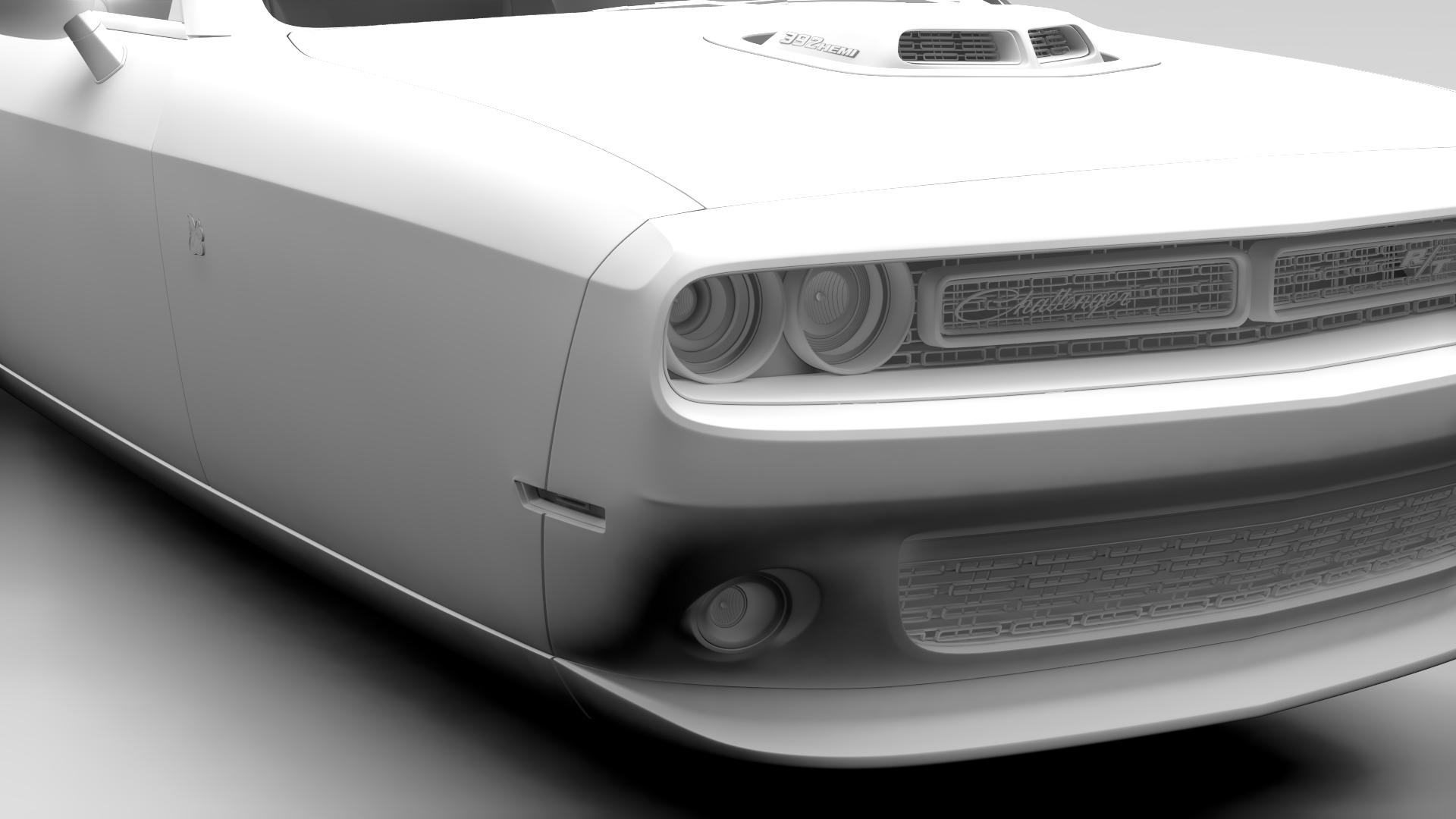 Dodge Challenger 392 shaker (lc) 2016 yn hedfan model 3d 3ds max fbx c4d ar gyfer yr hrc xsi obj 220611